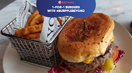 1-for-1 Burgers with #BurppleBeyond: Double the Buns, Double the Fun