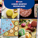 8 Buzz-worthy Mooncakes For The Curious, The Trendsetters and The Adventurous