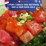 1-for-1 Deals this National Day and Hari Raya Haji