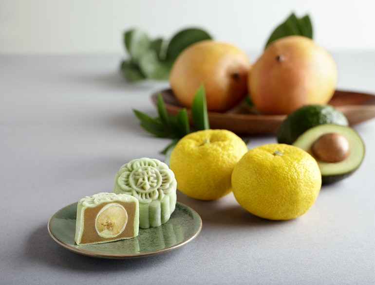 mooncake_ Avocado & Mango Yuzu Snow-