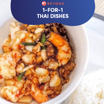 1-for-1 Thai Dishes with Burpple Beyond