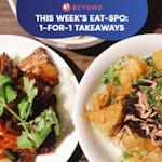 This Week's Eat-spo: 1-for-1 Takeaways
