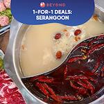 1-for-1 Burpple Beyond Deals: Serangoon