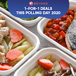 1-for-1 Deals This Polling Day 2020