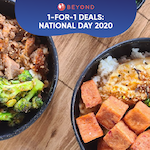 1-for-1 Deals This National Day 2020