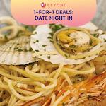 1-for-1 Burpple Beyond Deals: Date Night In