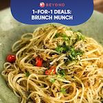 1-for-1 Burpple Beyond Deals: Brunch Munch