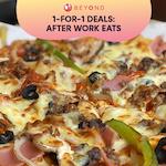 1-for-1 Burpple Beyond Deals: After Work Eat-spo