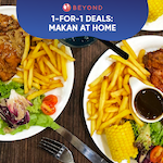 1-for-1 Burpple Beyond Deals: Makan At Home