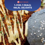 1-for-1 Burpple Beyond Deals: Halal Delights