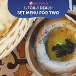 1-for-1 Burpple Beyond Deals: Set Menu for Two