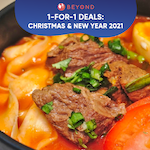 1-for-1 Deals This New Year's 2021