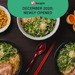 New Restaurants, Cafes & Bars In Singapore: December 2020