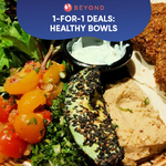 1-for-1 Burpple Beyond Deals: Healthy Bowls