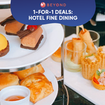1-for-1 Burpple Beyond Deals: Hotel Fine Dining