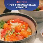 1-for-1 Takeaway Deals: CBD Bites