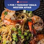 1-for-1 Takeaway Deals: Western Affair